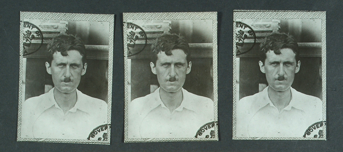 Eric Blair (George Orwell) Metropolitan Police file