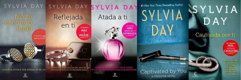 Saga Crossfire Sylvia Day 5 libros